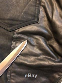 Rick Owens Cotton/Leather Pants Sz 31