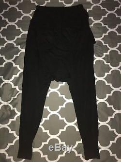Rick Owens DRKSHDW Prisoner Memphis Pants Black X-Small DU17F2395/RN-09