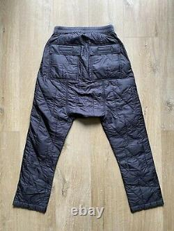 Rick Owens DRKSHDW Quilted Drawstring Pants
