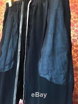 Rick Owens DRKSHDW men futuristic pants color black size L runway show