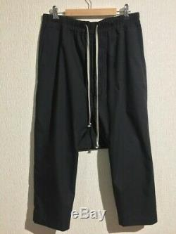 Rick Owens Drawstring Cropped Pants sz 48