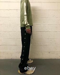 Rick Owens Drkshdw Pusher Pants Size M Black