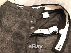 Rick Owens Drop Crotch Pants. Perfect For Summer. Silk/linen. Black. 48it/32 Us