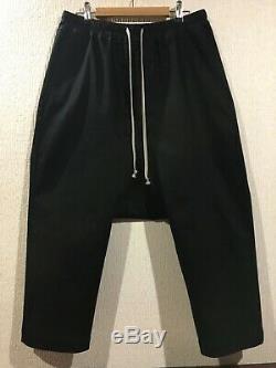 Rick Owens Forever Drawstring Cropped Pants sz 46 BNWT