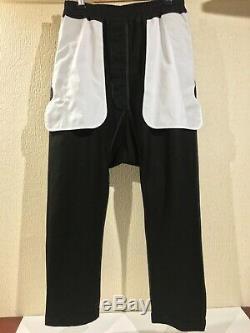 Rick Owens Forever Drawstring Long Pants sz 48