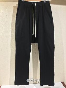 Rick Owens Forever Drawstring Long Pants sz 50