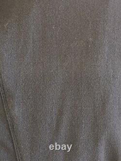 Rick Owens Gleam A/w'10 Drawstring Pants, Size M It/m Us. Dark Shadow $875