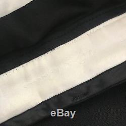Rick Owens Mens Black Virgin Wool Astaire Pants Size 48