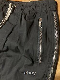 Rick Owens Pants Zipper Black XL