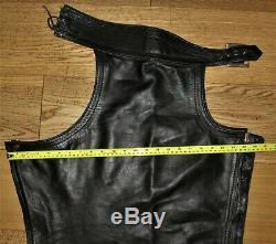 Rob Amsterdam Premium Gay Leather Chaps Trousers Jeans Bluf Uniform Mr B