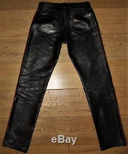 Rob Amsterdam Premium Gay Leather Trousers Breeches Jeans Uniform Bluf Mr B
