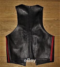 Rob Amsterdam Premium Gay Leather Waistcoat Trousers Jeans Bluf Uniform Mr B