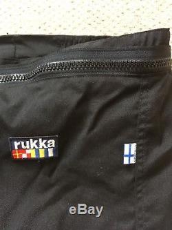 Rukka Black goretex trousers size 58 (uk 42 Waist)