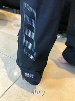 Rukka Nivala, Jacket & Trousers, Gore -Tex Textile Suit, Black-Orange. Perfect