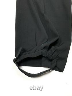 SS1999 Yohji Yamamoto Pour Homme Black Dress Pants Size XL