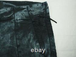 STONE ISLAND Shadow Project pants black grey corrosion cargo jeans 48 fits 50