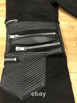 Saint Laurent Motorcycle Pants With Zippers