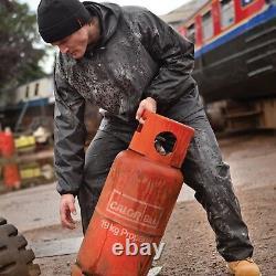 Scruffs Rain Jacket and Waterproof Trousers Black 2 Piece Rain Suit B5