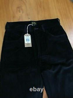 Stan Ray USA Corduroy Wide Leg Painter Pant Black/Violet 30x32