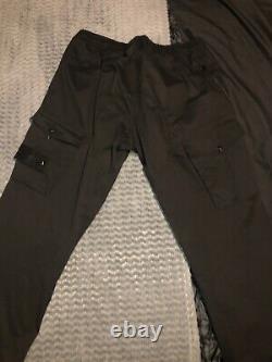 Stone Island Black Ghost Cargo Trousers 36w