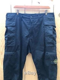 Stone Island Cargo Pants 34 Waist Black