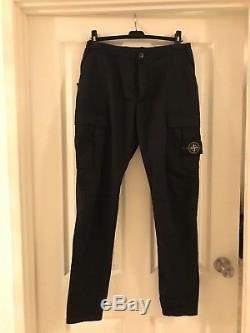 Stone Island Cargo Pants Black