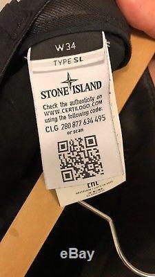 Stone Island Cargo Pants Black 34 Drake 7 Pockets