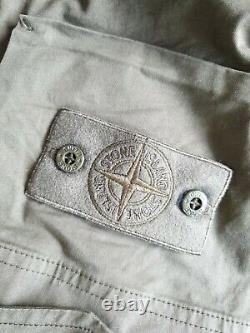 Stone Island Ghost Piece technical cargo pants 33 32 tech olive green black