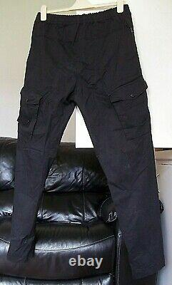 Stone Island Rare Ghost Shadow Project Black Cargo Combat Trousers. 34 Waist