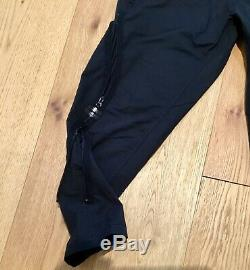 Stone Island Shadow Project side zip pants trousers black size 48 new with tags