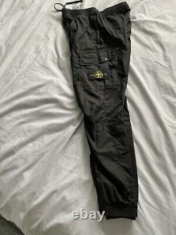 Stone island Stretch Cotton Tela Cargo Trousers 32