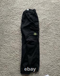 Stone island cargo trousers 31 Black