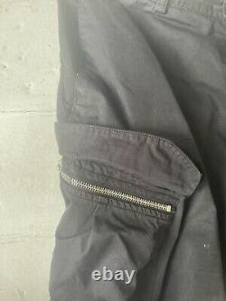 Stone island shadow project trousers 48 M Cargo Black