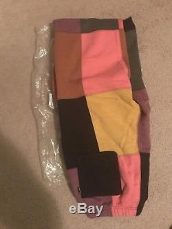 Supreme Patchwork Sweat Pants Black Size Xl BRAND NEW BOX LOGO Nas Gonz Hooded