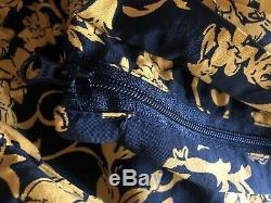 Supreme Warm Up Pant Black Floral SS20 Size XL Versace Foamposite