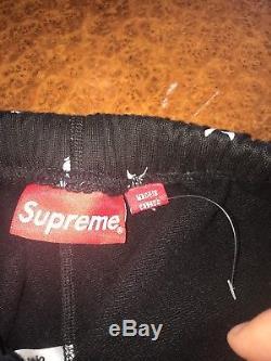 Supreme x Playboy Sweatpants Black Size S READ DESCRIPTION