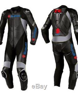 Suzuki Gsxr Motorbike Leather Suit Moto Gp Men Motorcycle Leather Jacket Trouser