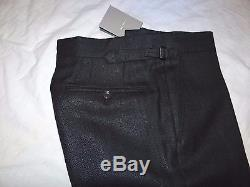 Tom Ford Smart Elegant Slim/tailored Fit Heavy Silk & Mohair Trousers W33/l33