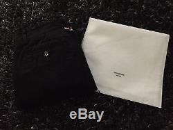 Thom Browne Men's Black Stripe Detail Chino Trousers Size 0 Clearance 40% OFF