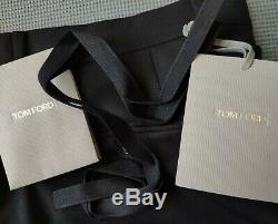 Tom Ford men's black wool trousers size 40(34) Made in Italy RRP £990