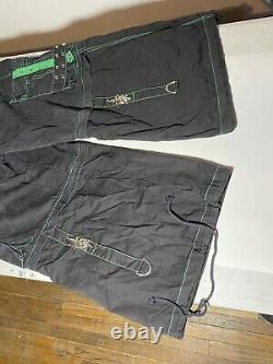 Tripp NYC Daang Goodman Rave Goth Club Cargo Pants Men's Size XL Skull Sword