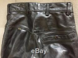 VANSON leather motorcycle pants, size 33