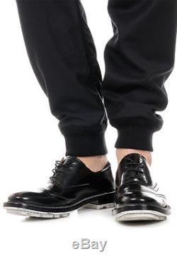 VIVIENNE WESTWOOD LONDON Men Black Wool Low Crotch Trousers Pants Italy Made