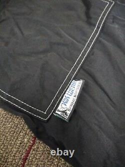 VTG KiK-Wear 15 Wide Rave Skater Cargo Pants JNCO Black MacGear EMO/GOTH/PUNK