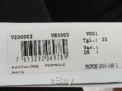 Versace Collection Mens Black Dress Pants Size US 36 Waist $399