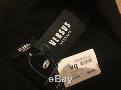 Versus Versace Men's Black Biker Jogging Bottoms Track Trousers S