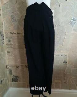 Vintage 1940s mens fishtail trousers, Austin Reed