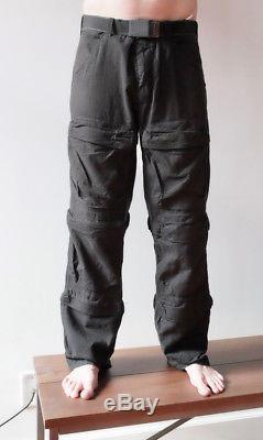 Vintage 1999 Helmut Lang Jeans Black Men's Cargo Pants Men's L