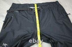 Vintage Arcteryx BETA AR Pant Mens Black GORE-TEX PRO SHELL Size XL