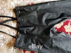 Vintage Belstaff Black Prince Motorcycle Jacket & Trouser Suit 1950s Original